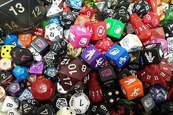 Dice and Supplies