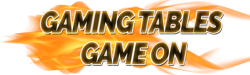 gaming tables game on logo