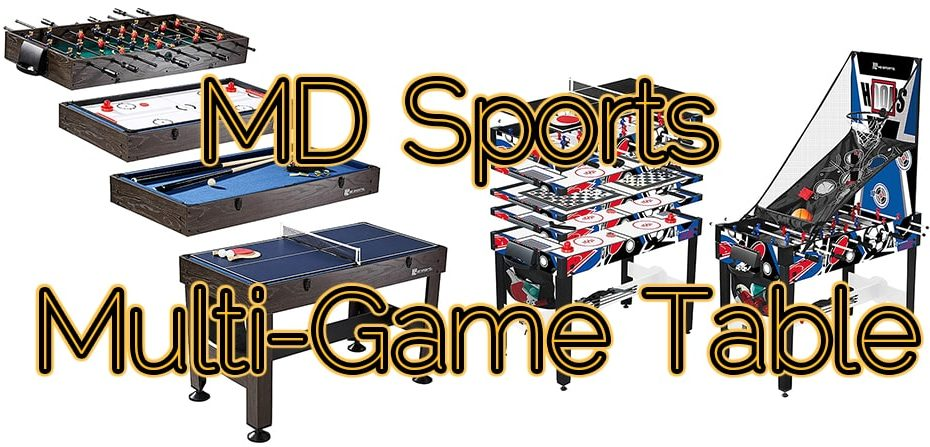 MD Sports Multi-Game Table