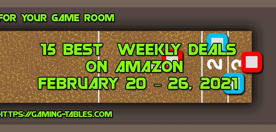 15 Best Weekly Deals on Amazon February 20 – 26, 2021