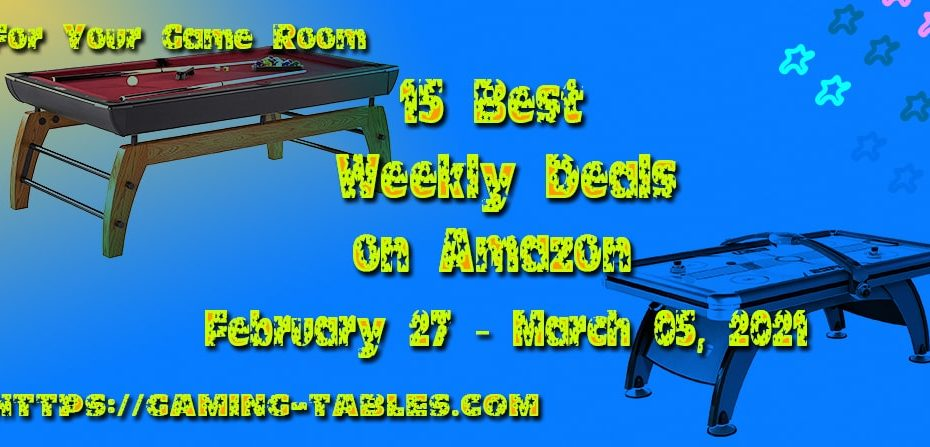 15 Best Weekly Deals on Amazon February 27 – March 05, 2021
