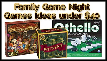 Family Game Night Games Ideas under 40 USD