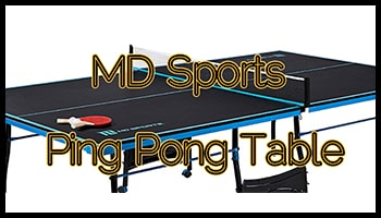 MD Sports Ping Pong Table 350x200