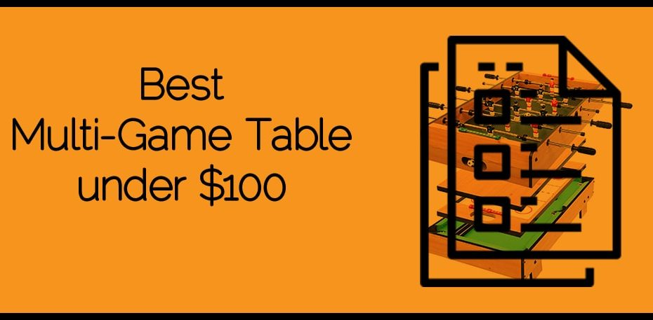 Best Multi-Game Table under $100