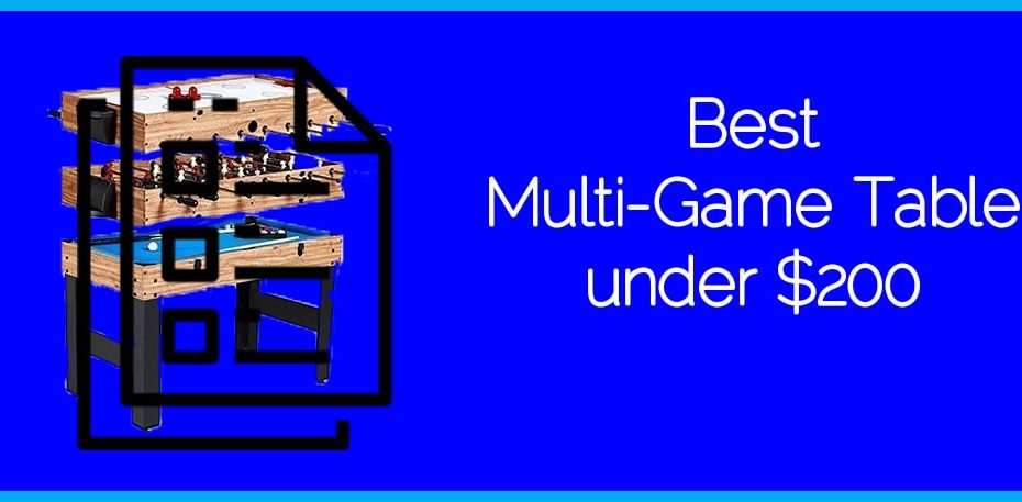 Best Multi-Game Table under $200
