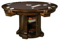 Croxton Poker Table 54 inch