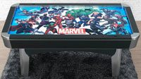 American Heritage Marvel Universe Air Hockey Table 84 inch