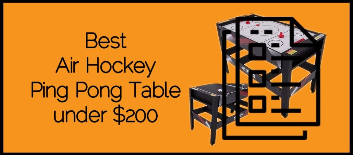 Best Air Hockey Ping Pong Table under $200