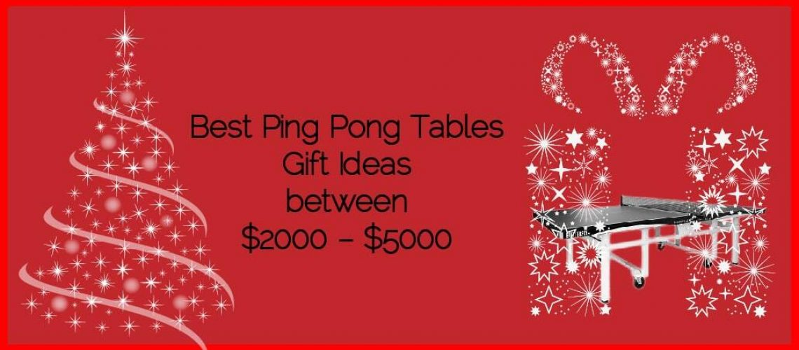 Best Ping Pong Tables Gifts Ideas between $2000 – $5000