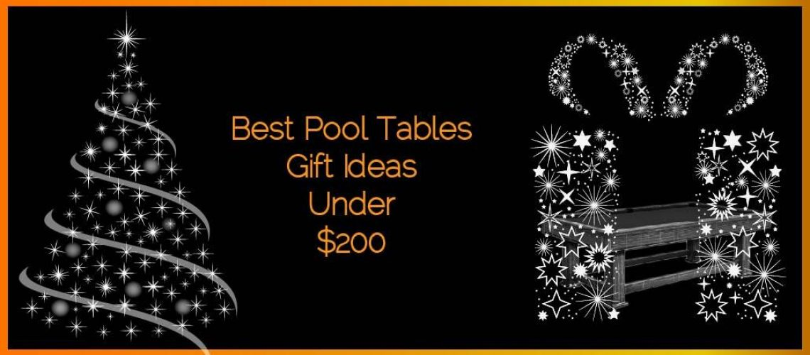 Best Pool Tables Gifts Ideas under $200