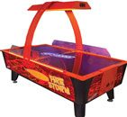 Dynamo Fire Storm Air Hockey Table 99 x 51 inch - Coin Operated