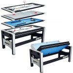 ESPN Multi Game Table 4-in-1 Swivel Combo Game Table