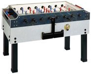 Garlando Olympic Coin-Operated 43.5 inch Outdoor Wood Foosball Table