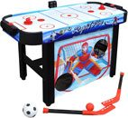 Hathaway Rapid Fire 3-in-1 Air Hockey Multi-Game Table 42 inch