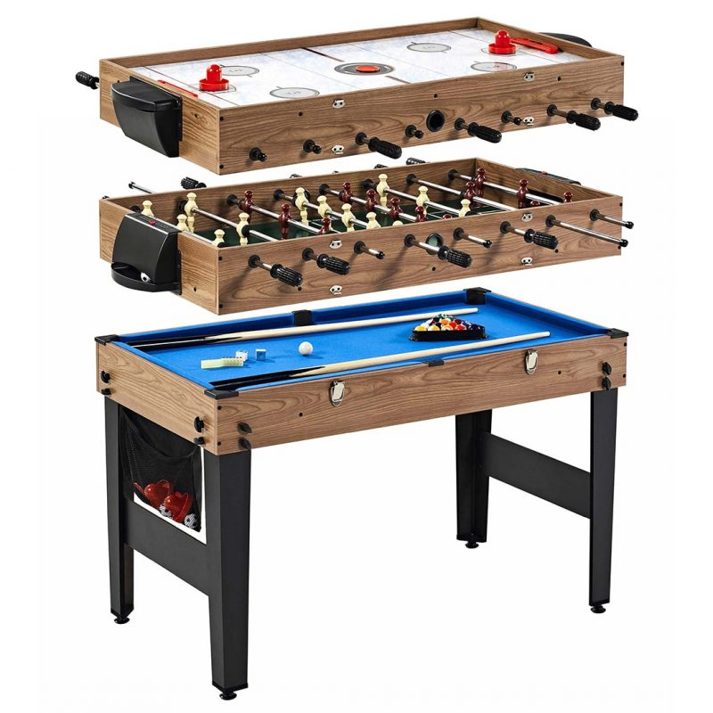 MD Sports 48″ 3-in-1 Multi-Game Combo Table