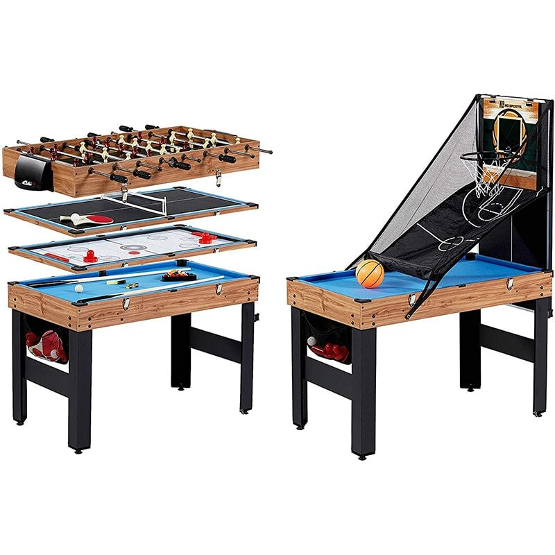 MD Sports Multi-Game Combination Table Set 5-in-1