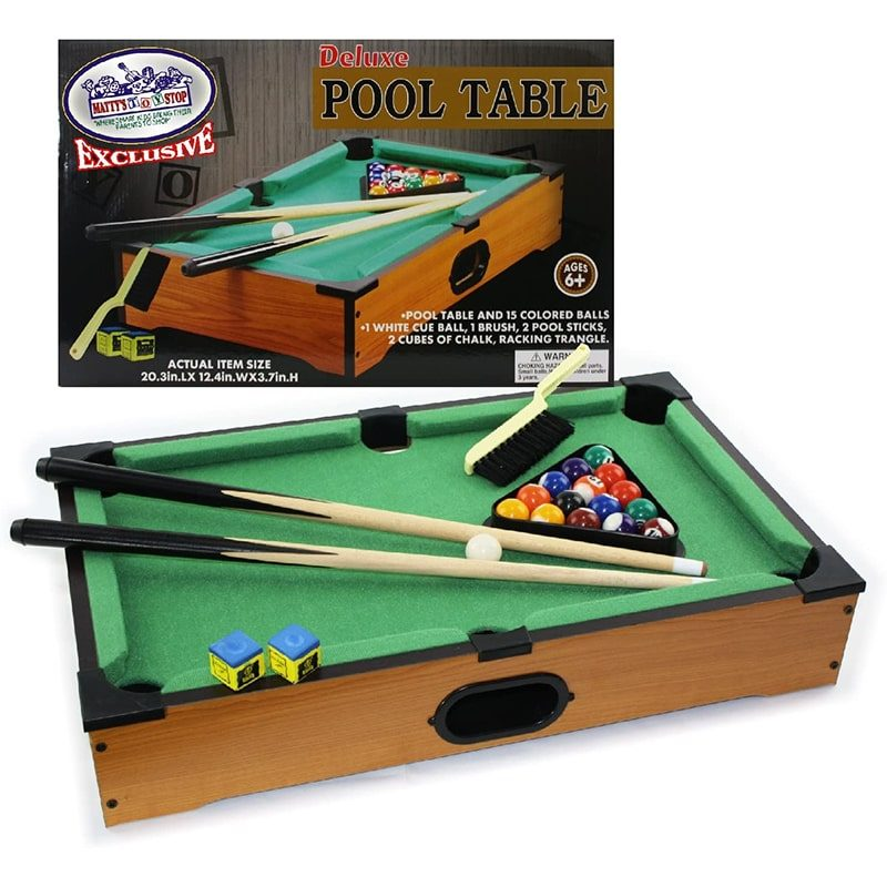 Matty's Deluxe Table Top Pool Table