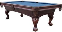 Playcraft Charles River Espresso 8ft Slate Pool Table