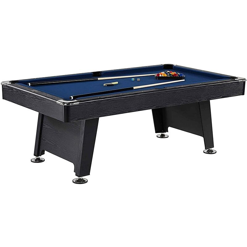 Thornton 7 Foot Billiard Game Room Table with Accessories-min